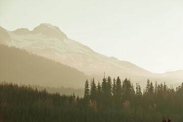 Fototapeta Mountains in Canada