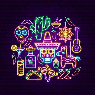 Cinco de Mayo Neon Concept