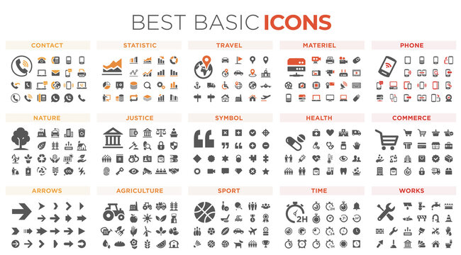 Basic icon collection