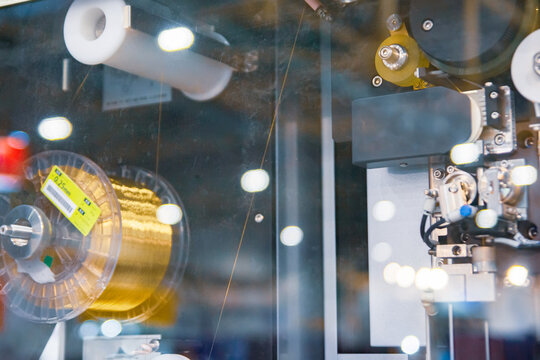 Processing of high parts on wire-cutting machines. Jet-type wire-cutting machines for processing any conductive materials