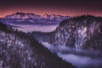 Fototapeta Sokolica - Krościenko