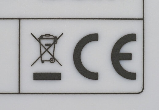 CE marking on product