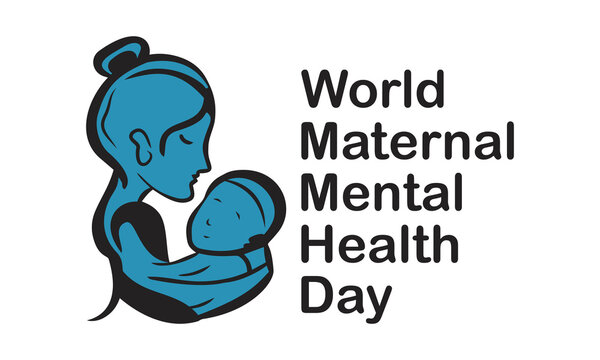 World Maternal Mental Health Day Internationally Celebrated On May 6 in Every Year. Banner, Poster International Awareness Campaign Template.