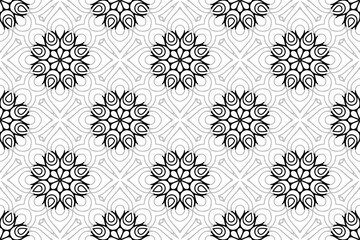 Islamic Ornament Pattern. Vintage decorative elements