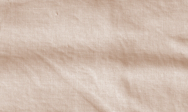 Bronze wrinkled fabric texture for background