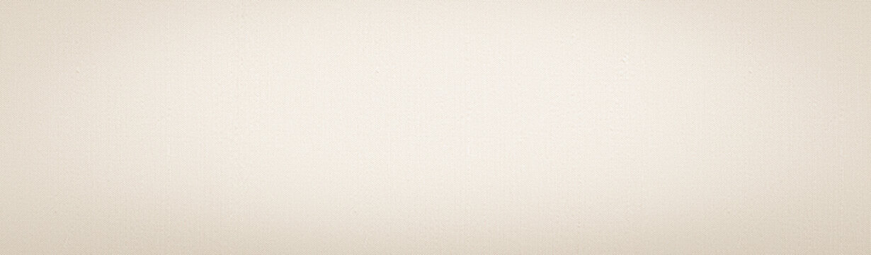 Texture banner, neutral fabric background panoramic