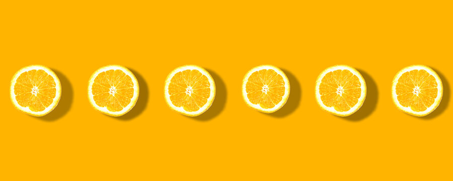 flat lay .Fresh yellow lemons overhead view