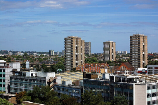 View across North West London