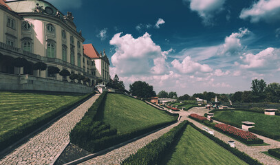 Fototapeta King Palace garden