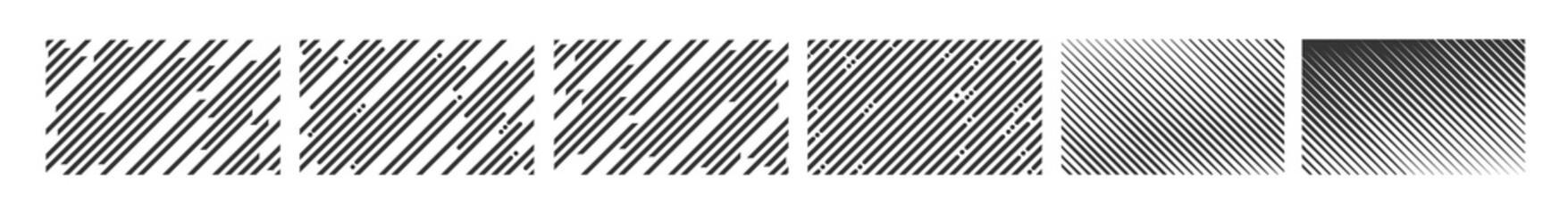 Fototapeta Diagonal or lines edgy pattern