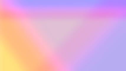 Fototapeta Gradient z wielu kolorów nachodzących na siebie układające się w figurę