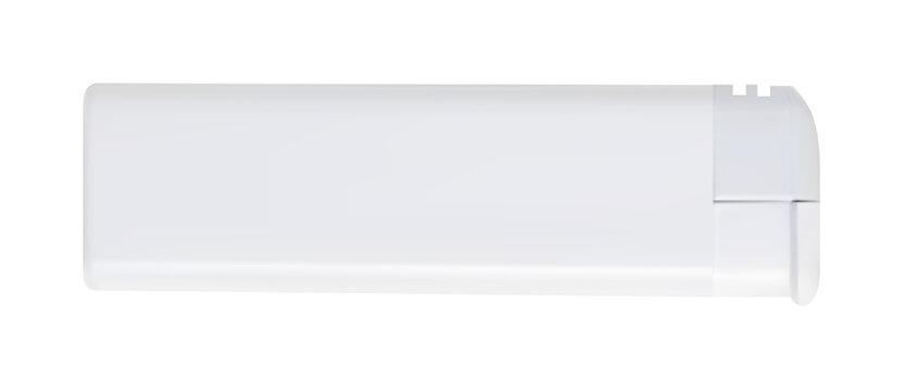 Blank white lighter mockup template for branding