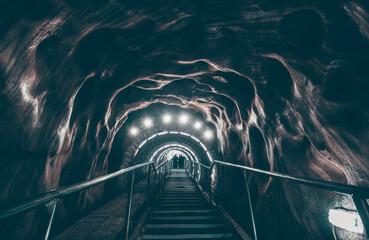 Fototapeta Salt mine corridor