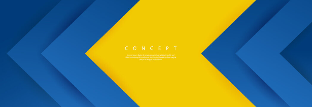 Abstract background modern vector technology graphic yellow and blue energy technology concept futuristic graphic. Yellow and blue science background digital image vector abstract background texture