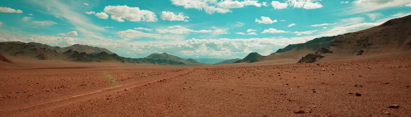 Desert in Mongolia