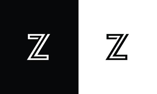 Z, ZZ letters logo monogram