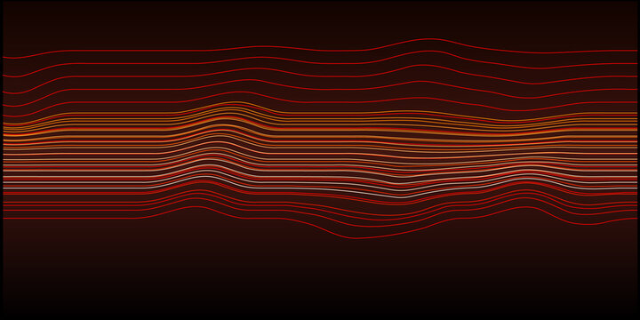 irregular lines pattern which create an abstract background. Vector Illustration