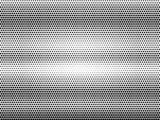 Fototapeta black and white of halftone background