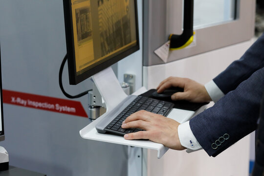 quality test on a modern X-Ray inspection system