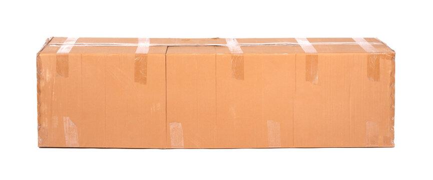 Very large cardboard box