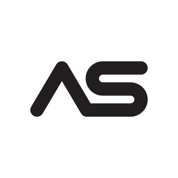 as initial letter vector logo