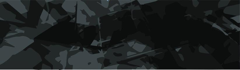 Fototapeta abstract dark gloomy black background for design. vector