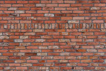 czerwona ściana budynku z cegły,  budynek z cegły, tło z cegły