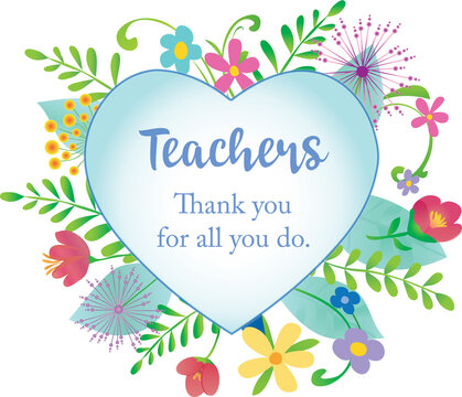Thank you Teachers Floral Design