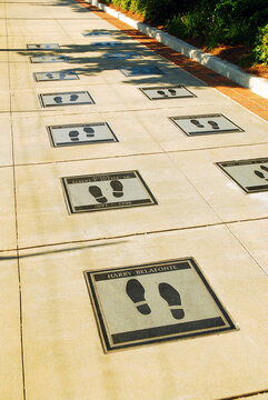 The Civil Rights Walk of Fame at the Martin Luther King Center for Non-Violence in Atlanta honors those who dedicated their lives to equal rights