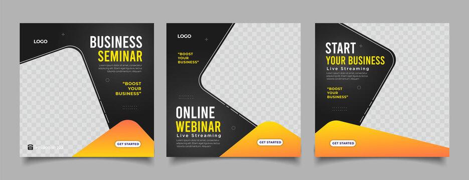 live webinar digital marketing post banner