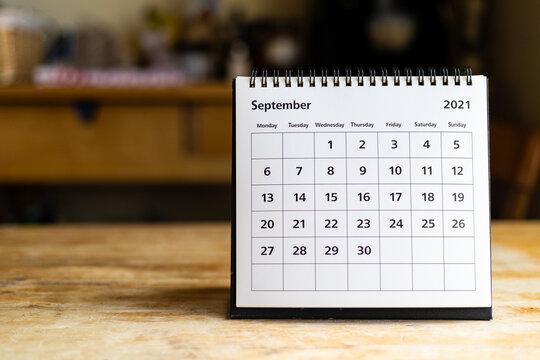 Calendar - September 2021