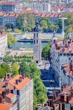 Vue sur Lyon depuis l'Antiquaille