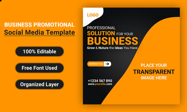 Business Promotional and Corporate Social Media Banner