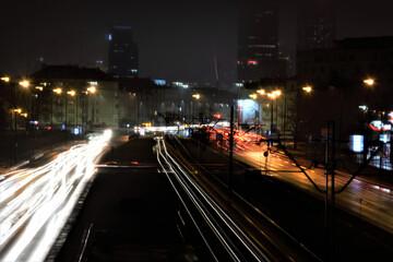 Fototapeta Inspiracja. Efekt. Warszawa obraz