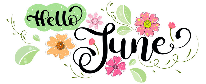 "1,352 BEST ""Hello June"" IMAGES, STOCK PHOTOS & VECTORS | Adobe Stock"