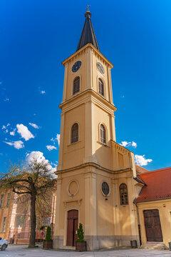 St. Carlo Borromeo church in Pancevo, Serbia