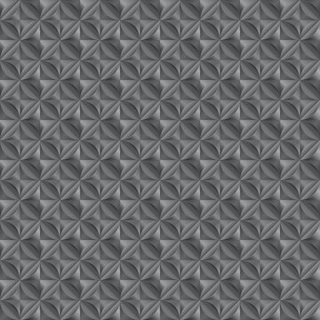 nahtlos Hintergrund, Tapete - geometrische Formen in einander verknüpft