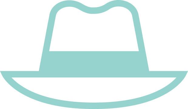 帽子アイコンイラスト