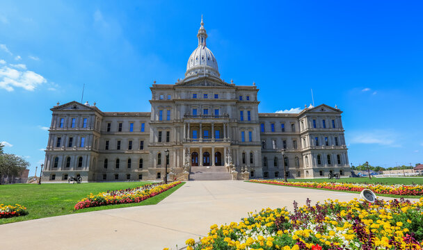 The Michigan State Capitol is the building that houses the legislative branch of the government of the U.S. state of Michigan