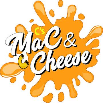 Mac and cheese vector logo