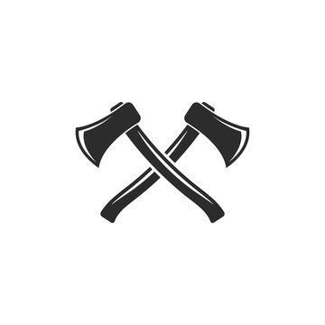axe icon vector illustration design template