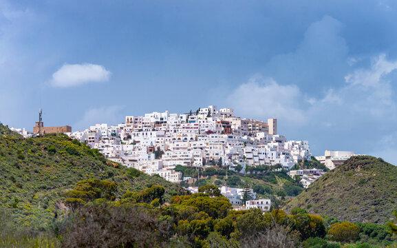 Mojacar ,Village, Mojacar, Almeria, Andalusia, Spain