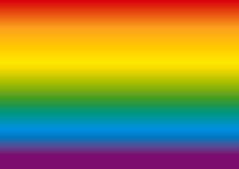 Fototapeta Tło z paletą kolorów utożsamianą z LGBT.