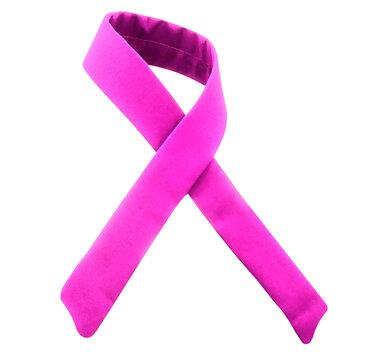 fita laço dor de rosa