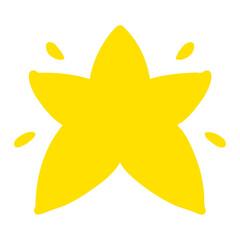 Fototapeta shining star shape