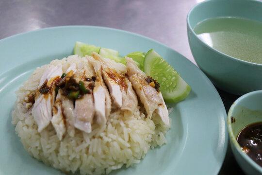 カオマンガイ/海南鶏飯/タイ・バンコクの料理