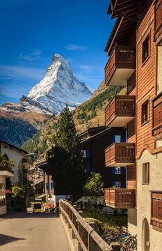 Zermatt cityscape