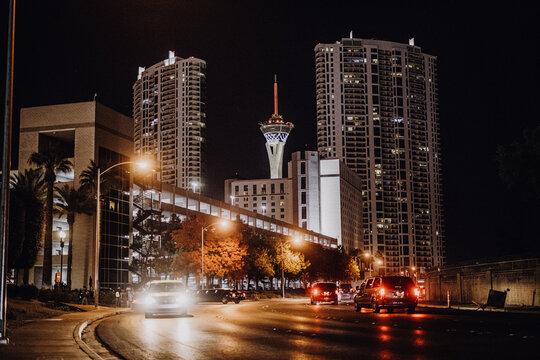 Amerika | Las Vegas Skyline bei Nacht