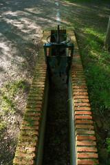 Fototapeta kanał nawodnienie park śluza urządzenie