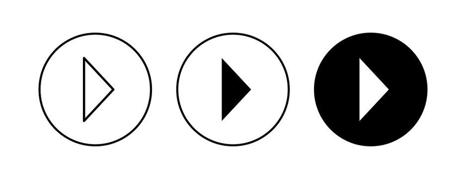 Arrow icons set. Arrow symbol. Arrow vector icon